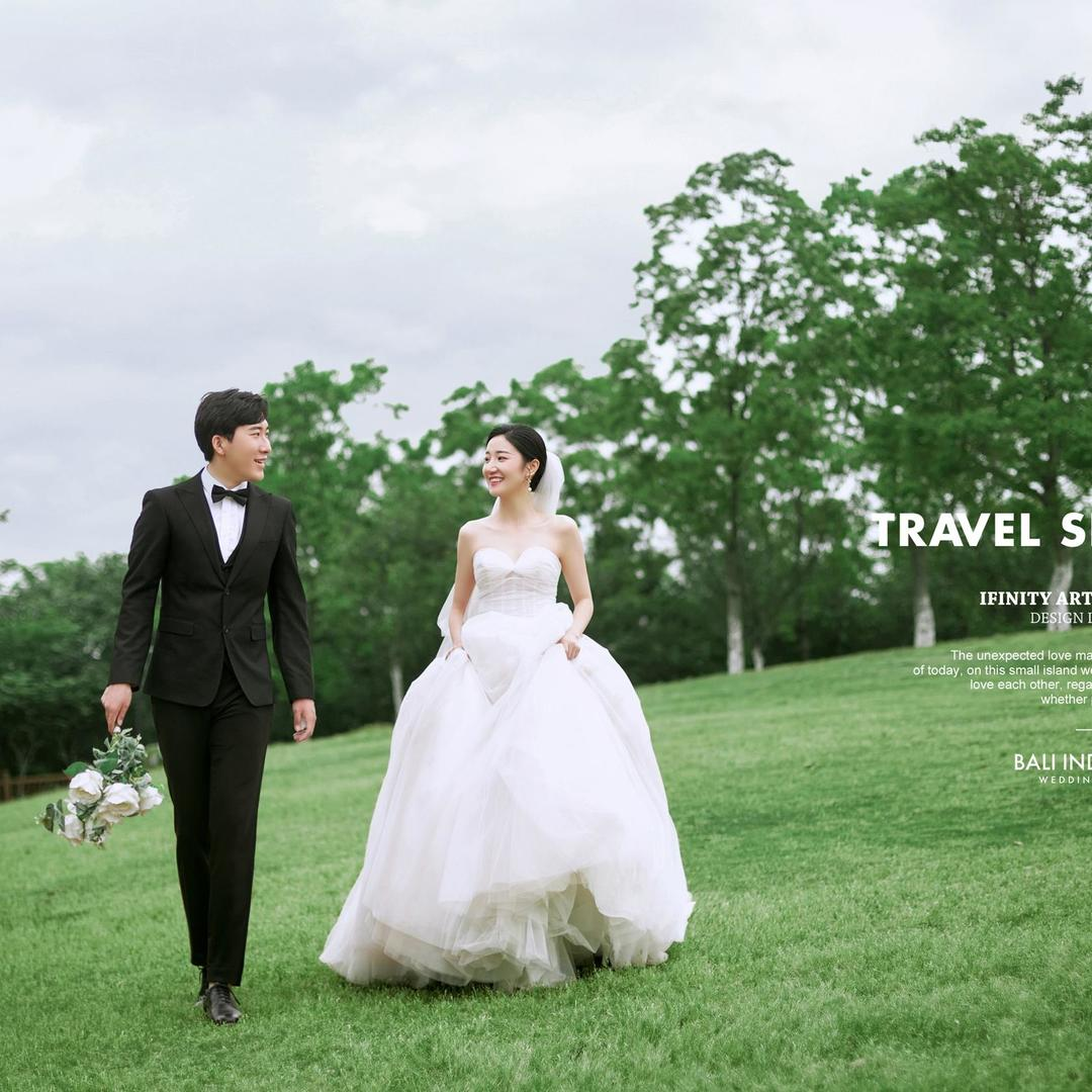 U2外景婚纱摄影资深摄影师全程掌镜