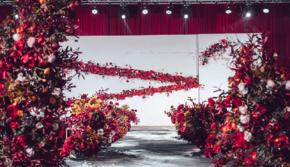 【遇见】网红同款 红白色系交错婚礼(含五大金刚)