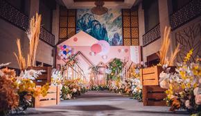 糖果森系主题婚礼--吉米