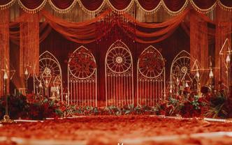 #雅蜜婚礼#浮生御大厅红色婚礼