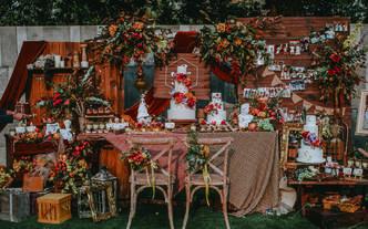 《秋意》唯美秋季红色系主题婚礼