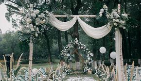 【洛韦尔婚礼】超性价比小清新婚礼