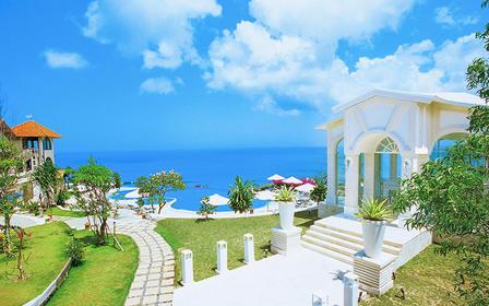 【巴厘岛婚礼】蓝点教堂 海外婚礼 一价全包