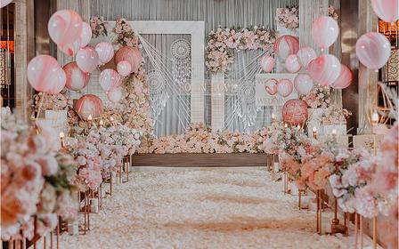 【室内婚礼套餐】简约粉色系--甜甜的爱