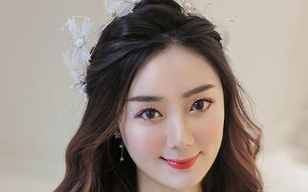 杭州萧山婚礼早晚妆 专家化妆师上门化妆 唯美中式