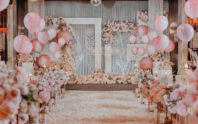 甜甜的爱 泰式风格—铂悦婚礼