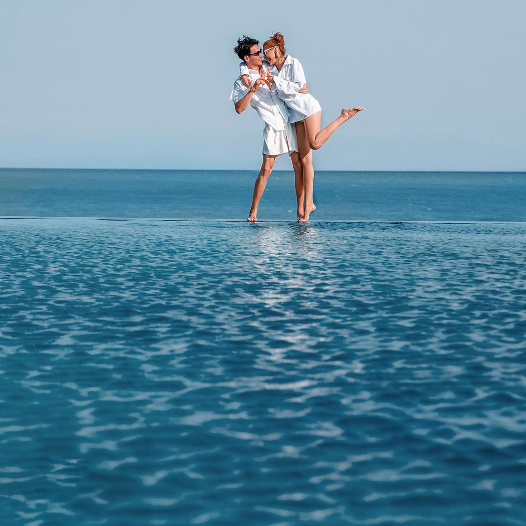 三亚旅拍 水下 游艇 沙滩 礁石 椰林