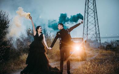 【8K拉】越野 创意 婚纱照