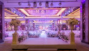 【禧合酒店】 繁花锦簇的高端华丽唯美婚宴大厅