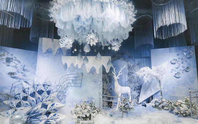 【阿兰高端婚礼定制】淡蓝色梦幻大气主题婚礼