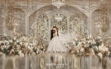 【1990婚礼企划】时尚创意奢华唯美婚礼