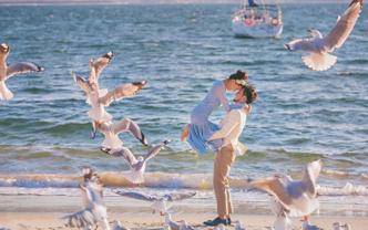 滟华容悉尼旅拍婚纱摄影套餐-送双人午餐