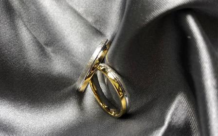 KARISMA 18K双色金系列结婚对戒「如初」