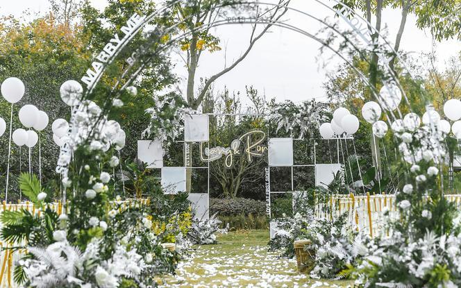 神话婚礼丨盛夏的果实丨户外草坪婚礼