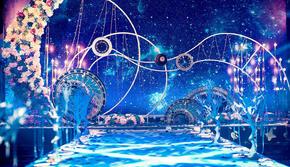 《素魄》浪漫星空婚礼,含四大金刚,舞美灯光