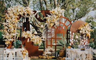 《秋色》一场明媚复古的户外婚礼