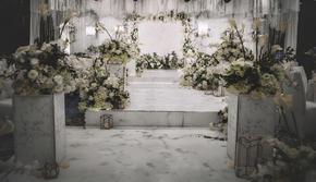 《春意》白绿色系 大理石风简约西式婚礼