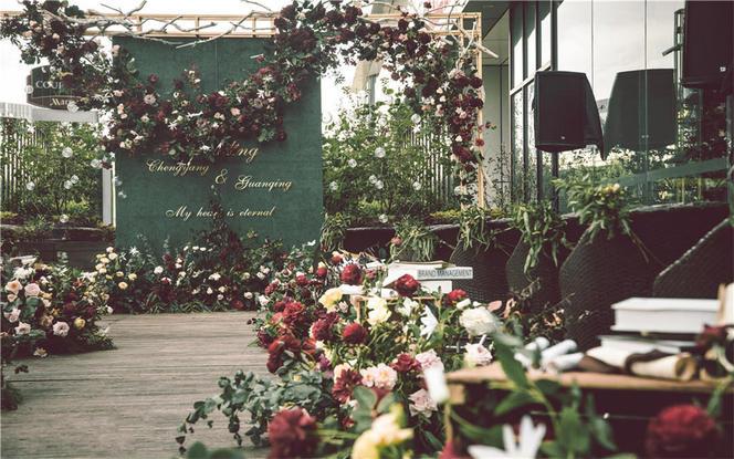 【荫为爱】——绿色西式小清新天台婚礼