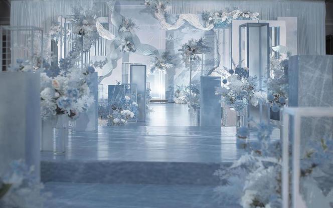 【MLILI】简约知性 梦幻婚礼—蓝色大海的传说