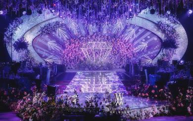 杭州婚蜜 | 紫色钻石婚礼