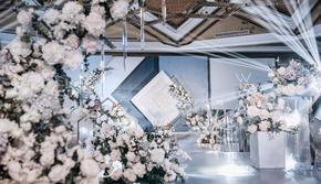 【心递婚礼】韩式婚礼·灰蓝雅馨