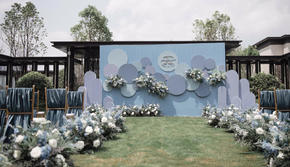 【YESIDO WEDDING】雾霾蓝