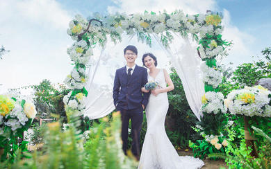 Mr.Cao&Mrs.Jin #花海婚纱照#