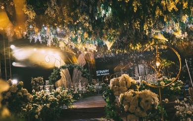 超美的室内婚礼| 诗缔婚礼