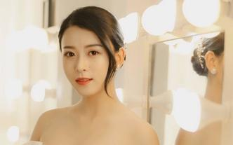 首席档全程跟妆3造型唯美简约妆容 送亲友妆