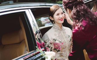 寳儿婚礼造型馆 | 资深化妆师新娘早妆或晚宴妆