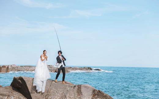 慕色美学婚纱摄影——礁石