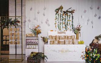 【热带猫婚礼】来婚礼现场开一个植物零食铺