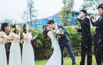 双机位婚礼摄影-婚礼必备-记录婚礼细节 西子映像