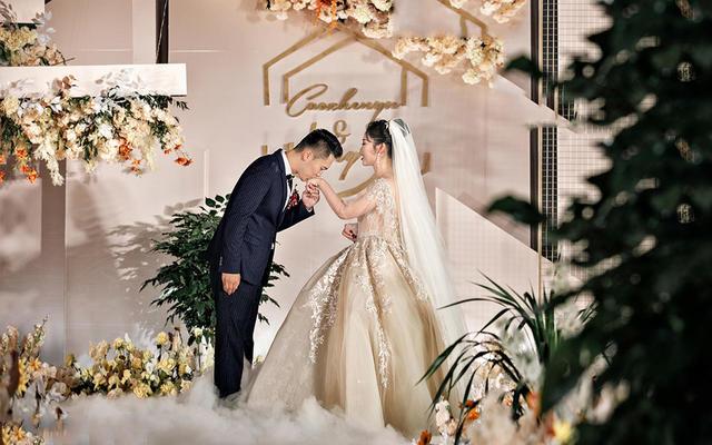【壹.美物婚礼】香槟色清新浪漫大气婚礼