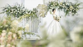 索奈婚礼|简约ins白绿小清新婚礼