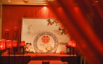 【洛阳喜库】 新中式婚礼   中国红  牡丹情