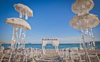 置身海洋 三亚海景沙滩婚礼