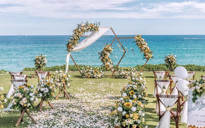 户外草坪/沙滩 微定制 婚礼套餐