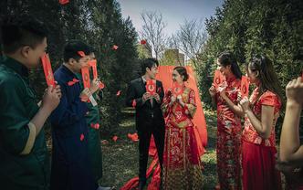 户外豪华中式婚礼主题【九服九造】 拍摄三天