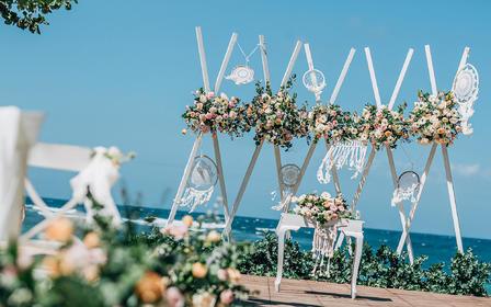 【罗曼斯海外婚礼】INAYA海景草坪婚礼