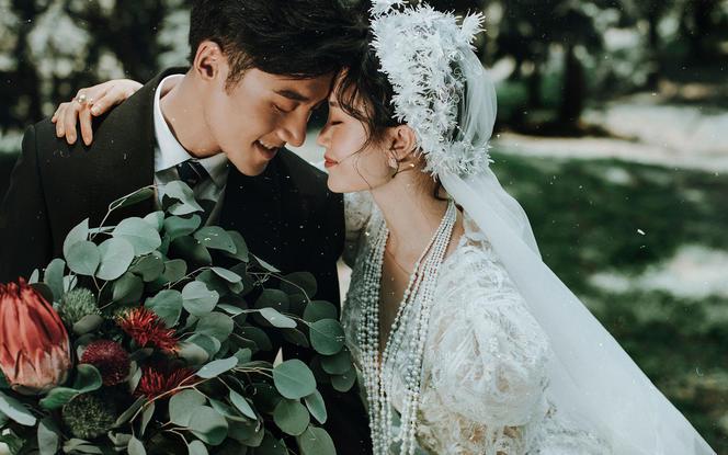 春季氧气恋爱#森系外景拍摄+内外不限+送新娘婚纱
