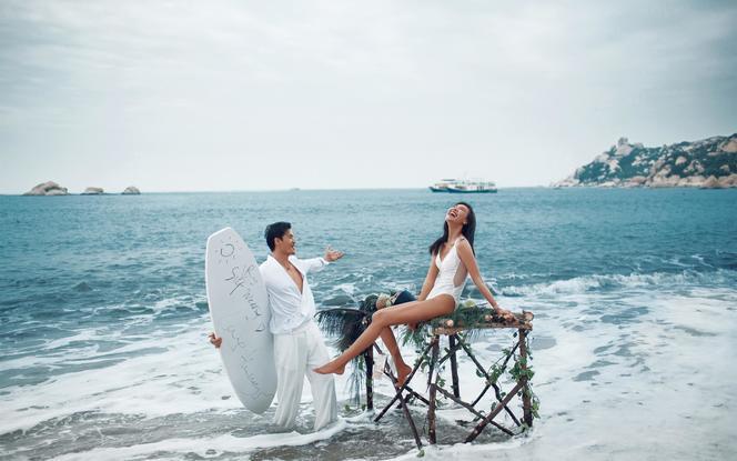 【热门景点】两天一夜浪漫海景婚纱照套餐