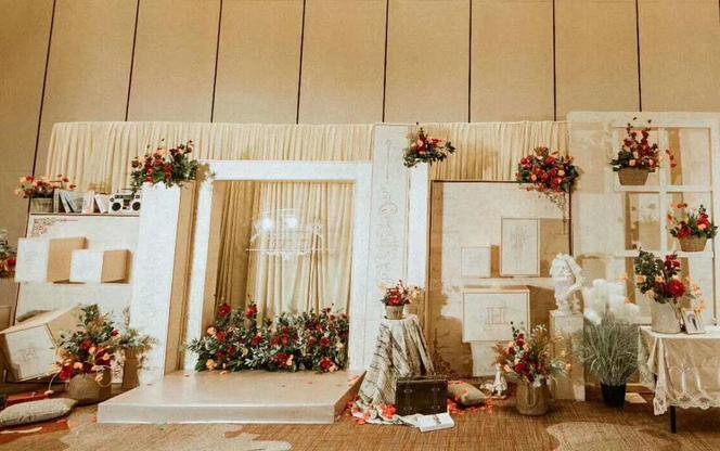 爆款婚礼设计|网红温馨浪漫现场