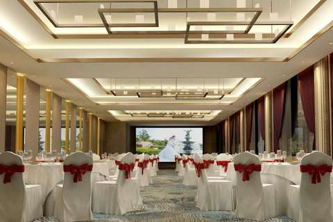 亚朵酒店婚宴