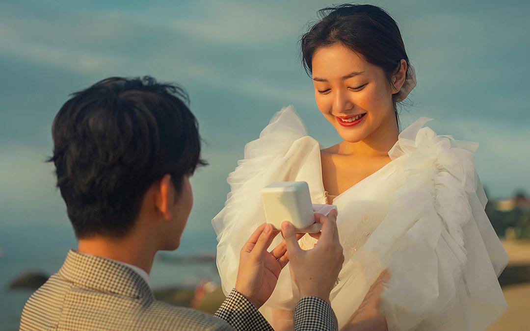 电影感婚纱照#21+外景路线任选,全场景风格通拍