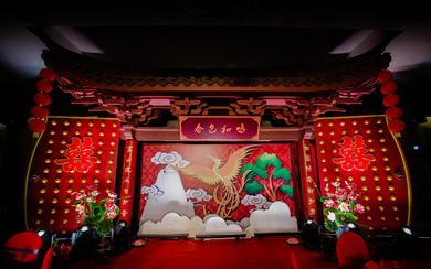 杭州婚蜜 | 正红色中式婚礼