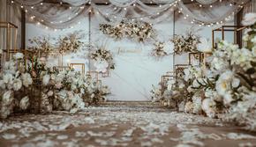 【不朽·婚礼】香槟色系现代简约婚礼