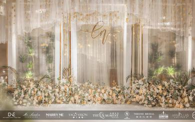 白金色小清新婚礼——皇冠假日酒店