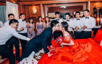 海口文昌婚礼跟拍(首席双机拍摄)套餐
