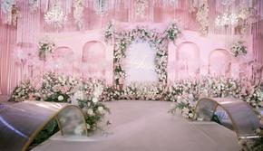 《一帘幽梦》粉色大气婚礼,厦门亦果婚礼策划